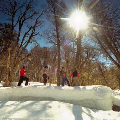 SNOWSHOEING AT NEUMEYER HUT