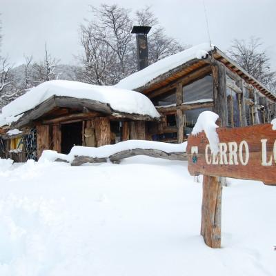 SNOWSHOEING CERRO LOPEZ
