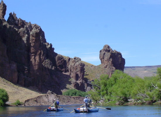 FLY-FISHING Limay River